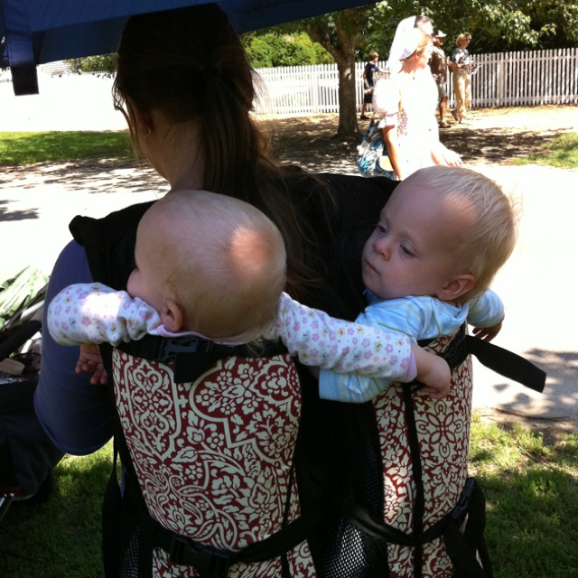 8c7e8f0e1319 People Mover twin backpack by Tracy Dower. Babywearing Triplets ...