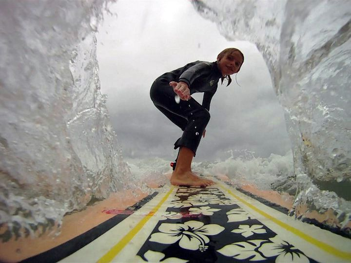 GoPro. I can't surf. BUT I would love to be able to! Especially if i could take a pictures like this...