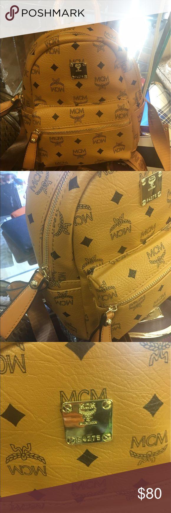 Medium size Mcm bookbag backpack Brand new. Price firm. MCM Bags Backpacks