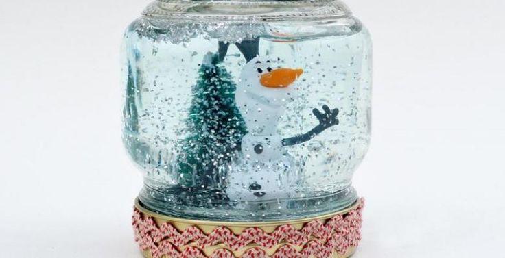 Comment bricoler un globe de neige en quelques étapes faciles! 8 MODÈLES! - Décorations - Trucs et Bricolages