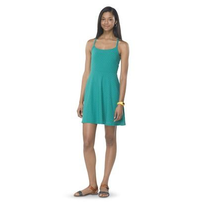 Turquoise summer dress for juniors