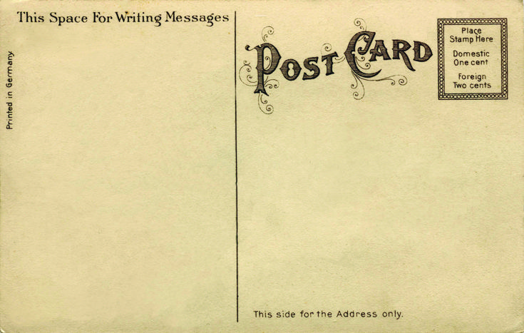 dating postcards divided back uk Picture postcard history the modern-style divided back postcard was born and began replacing the full-size sending postcards came to be seen by many.