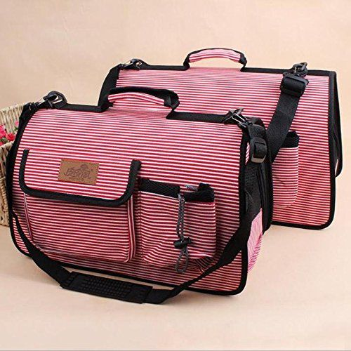 Beautylady New Puppy Cat Dog Carrier Travel Bag Portable Tote Soft Outdoor Carry