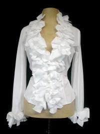 Anne Fontaine iconic blouse THE KIMMY. I am wearing this in the cover photo of my Barbara Gracewood CD - just love it!
