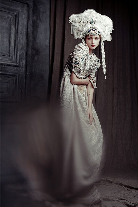 "Russian beauty. Russian girls. Folk fashion. ""Trapped"" by EKATERINA BELINSKAYA"
