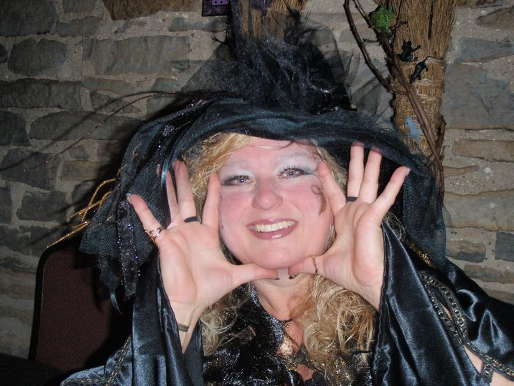 2013 Witches Night Out what a great idea. Ogdensburg NY. There's power in looking silly and not caring that you do.