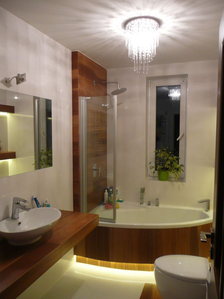 Z O Wietleniem Led Led Light Bathroom
