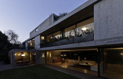 Dezeen » Blog Archive » Maruma House by Fernanda Canales #concrete