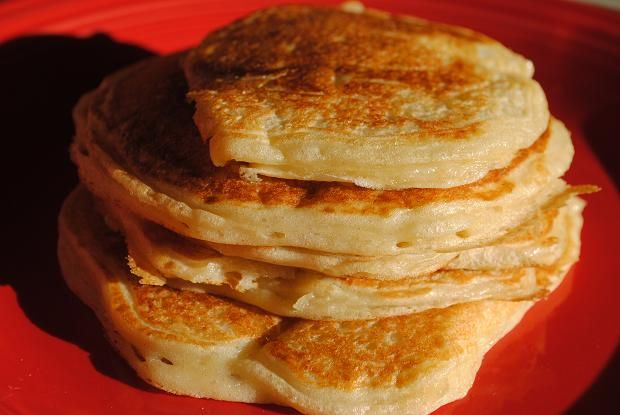 Greek yogurt pancakes-just made these and they were great!