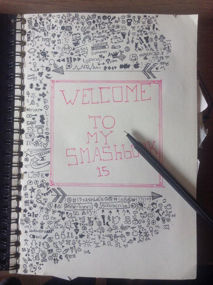 Working on my smashbook