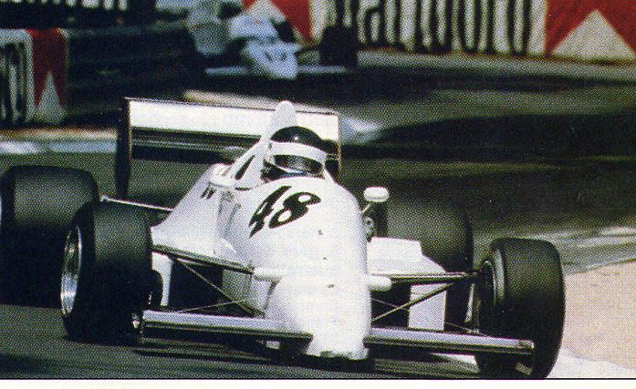 Richard Dallest - AGS JH20B Ford Cosworth DFV - Danielson - XLVI Grand Prix de Pau 1986