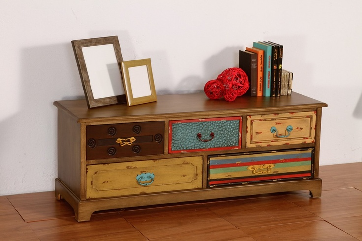 Mueble T.V. Patchwork Painting