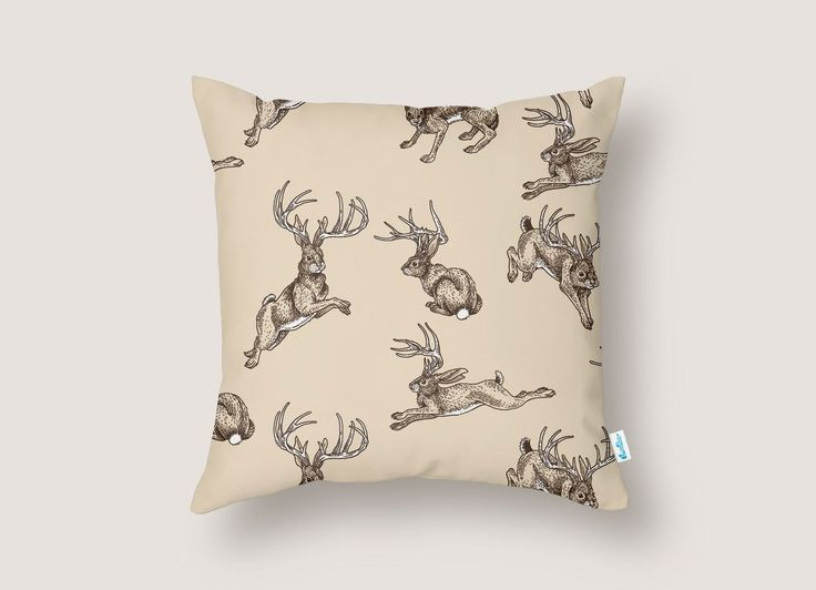 Check out the design Where the Jackalopes Play by Isabella Rotman on Threadless