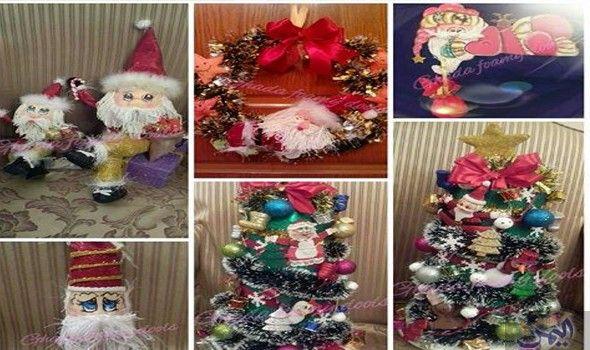 غادة إبراهيم تكشف تصميمها لديكور متكامل للاحتفال برأس السنة Holiday Decor Decor Christmas Tree