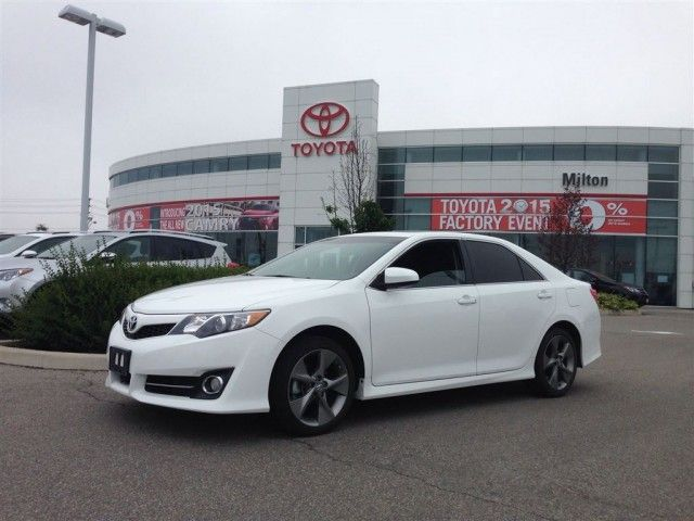 2014 toyota camry se v6 leather fully loaded navigation remote st at milton toyota 866 861. Black Bedroom Furniture Sets. Home Design Ideas