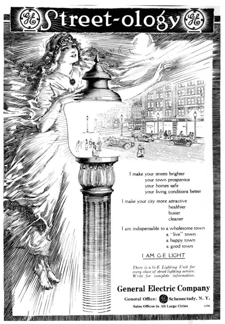 from general electric check out this poster from the early 1900s - General Electric