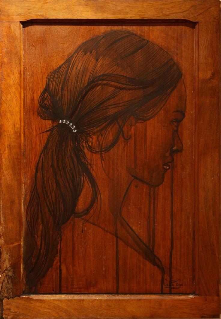 Pearl - Leza One - Urban Muses - @ Evartspace Gallery