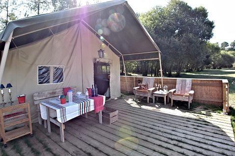 Italie, Noord west Toscane - camping Pian D'amoro - 3 safari lodges ( via greencamp) op mooi gelegen camping met pizza's avonden etc