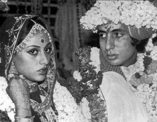 Amitabh Bachchan and Jaya Bhaduri | Top 5 Bollywood weddings
