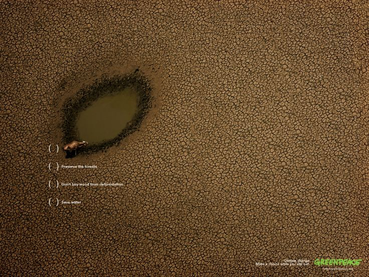 'make a choice while you still can' by AlmapBBDO for Greenpeace.
