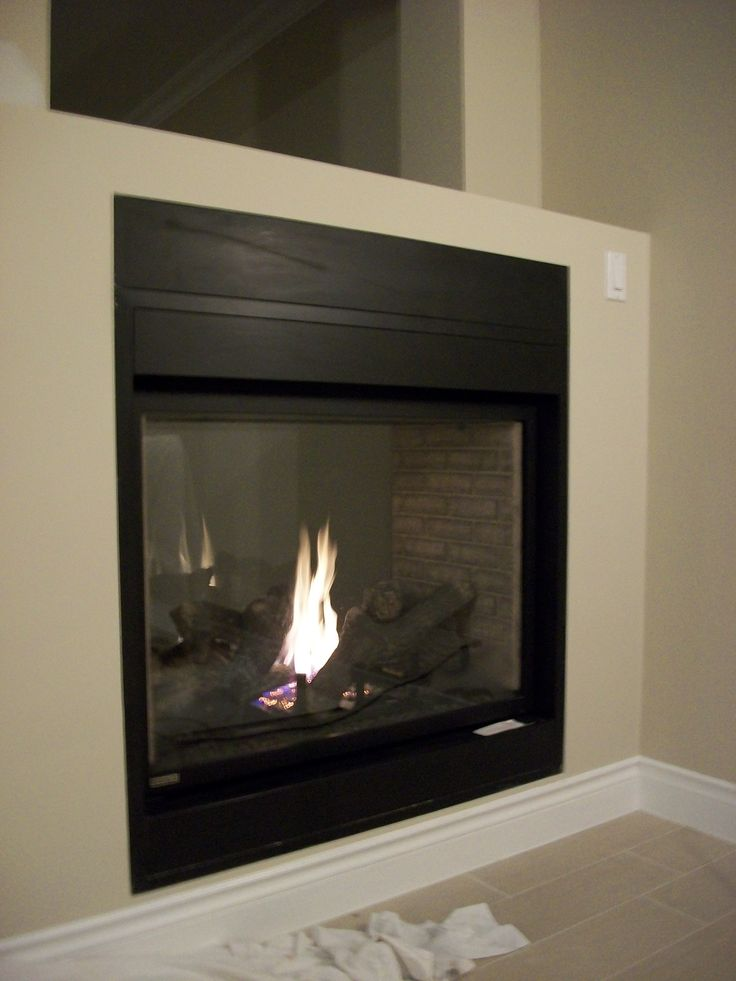 Gas Fireplace see thru gas fireplace : Die 50 besten Bilder zu fireplace auf Pinterest