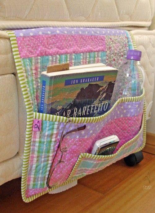 Porta Trecos Para Cama Box Patchwork Gerais