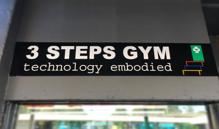 3 STEPS GYM – TECHNOLOGY EMBODIED IN CARRUM