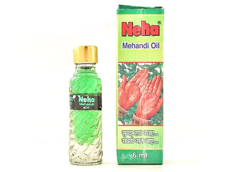 NEHA Mehandi Henna Oil Mehndi for Darkening Henna - Body Paint at Kit Tattoo 6ml…