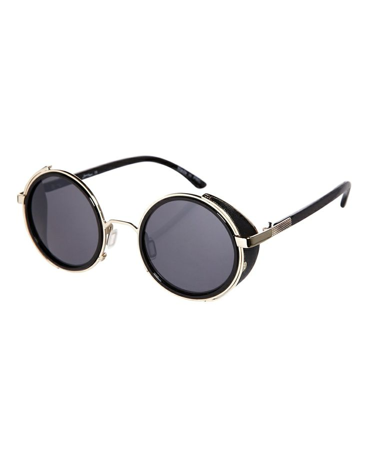 Jeepers Peepers Hunter Round Sunglasses