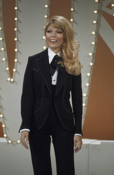 Nancy Sinatra appearing on The Dean Martin Show.