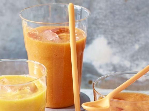 Melonensmoothie ist ein Rezept mit frischen Zutaten aus der Kategorie Südfrucht. Probieren Sie dieses und weitere Rezepte von EAT SMARTER!