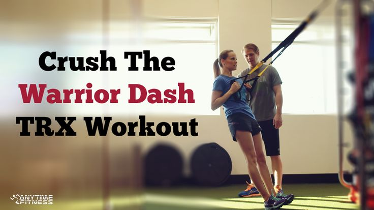 Crush the Warrior Dash with this TRX Workout