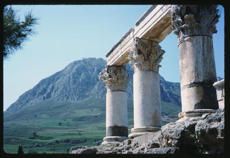 Αρχαία Κόρινθος, 28 Απριλίου 1965. ©Charles W. Cushman