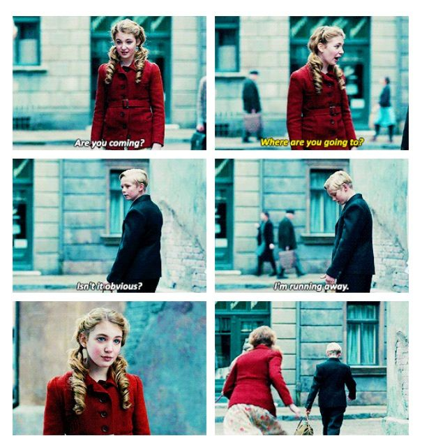 best the book thief images the book thief  liesel and rudy this pin and more on the book thief