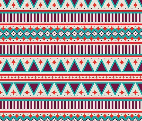 gypsy_stripe fabric by holli_zollinger on Spoonflower - custom fabric