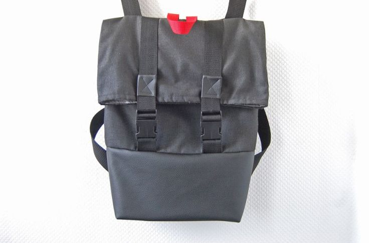 Anleitung: Schicken Rucksack nähen – Basismodell
