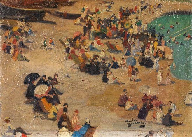 Scène de plage by André Devambez