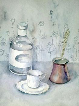 Coffee and mastiha