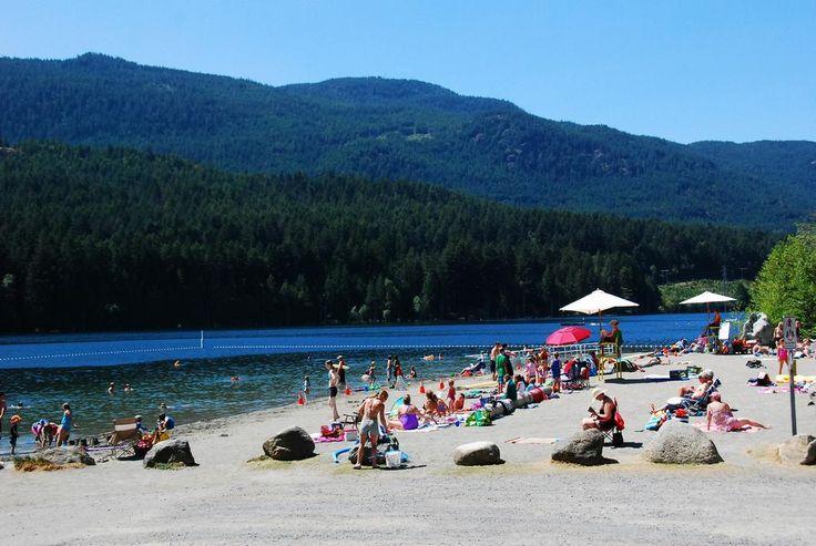 Westwood Lake Beach, Nanaimo BC