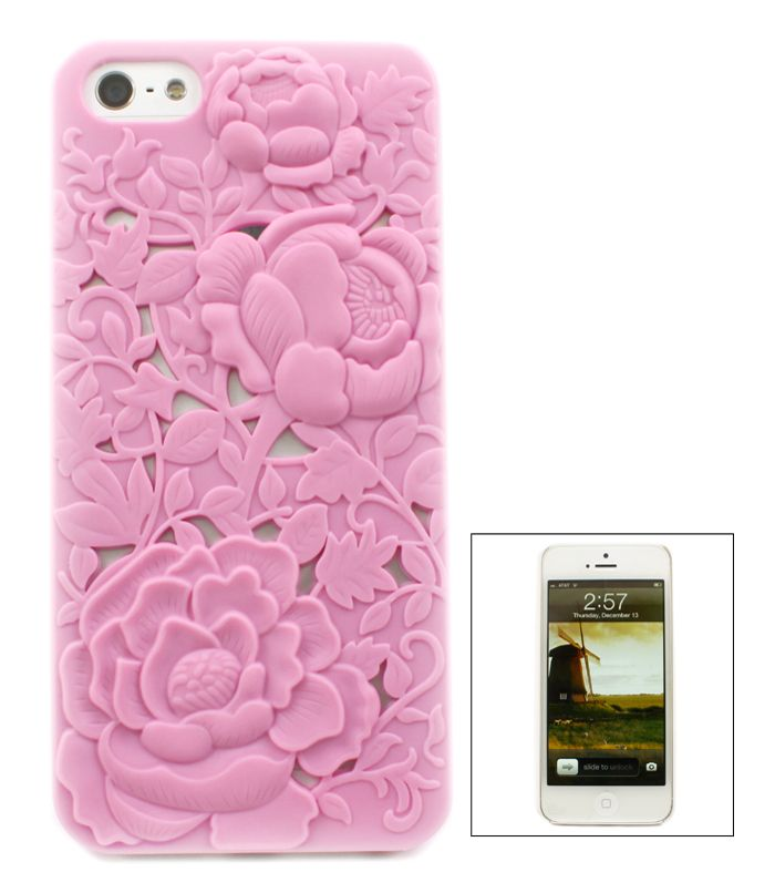 Blush Chrysanthemum iPhone Case: The funny thing is I acctully have this in red