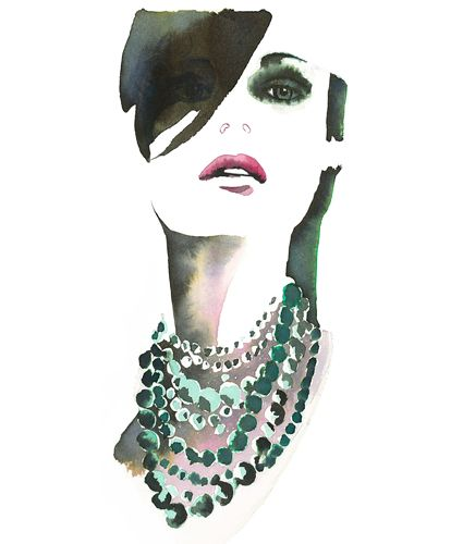 Christian David Moore - Illustrations: Beauty Illustration, Fashion Drawing Christian, Watercolor Paintings, Drawing Christian David, Illustration I, Watercolour Illustration, Illustration Art, 1 0 Illustration, Fashion Illustrations
