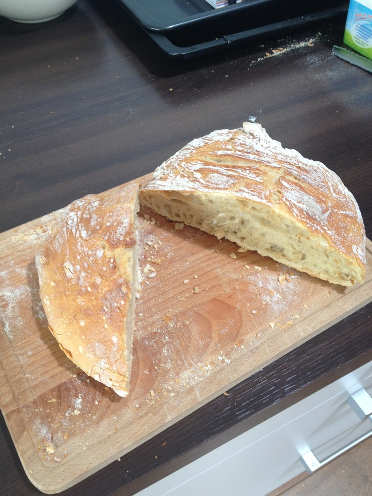 Crispy bread, lekker!