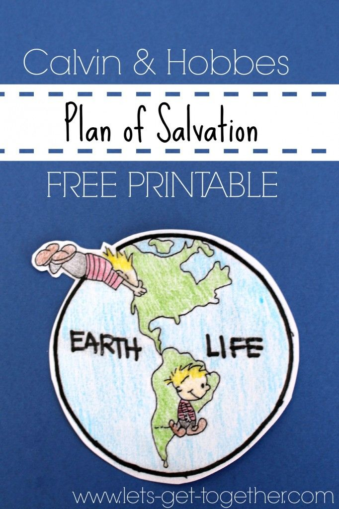 A sister missionary used this Plan of Salvation on her mission. FREE PRINTABLE