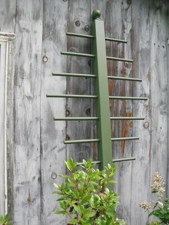 Painted Trellis Ideas Part - 27: Garden Trellis 7u0027 6. No Longer Available On Etsy, But Looks To Be