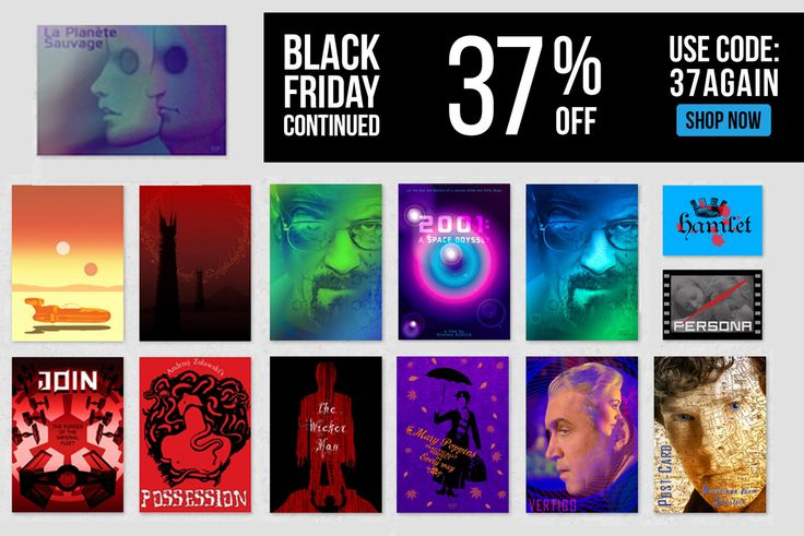 You saved to Stuff to Buy  Black Friday Sales! 37% OFF EVERYTHING!!! Use BLACK37 Buy Movie Posters by Scar Design #blackfriday #BlackFriday #Sales #discount #SalesPosters #buyposters #Poster #Displate #ScarDesign #MoviePoster #TVSeries #HomeDecor #GiftsForHim #GiftsForHer #WallArt #SciFiPosters #HomeGifts #MoviePosters #XmasGifts #ChristmasShopping #ChristmasGifts #CinemaPosters #Cinephile #AlternativeMoviePosters #MinimalMoviePosters #blackfridayshopping #weekendsales #xmasgifts…