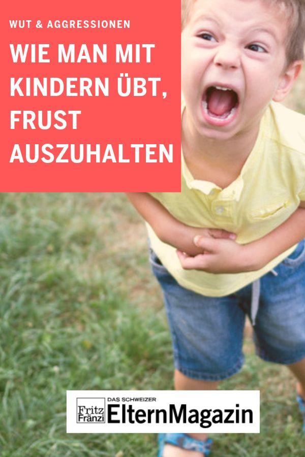 Wie man mit Kindern übt, Frust zu ertragen