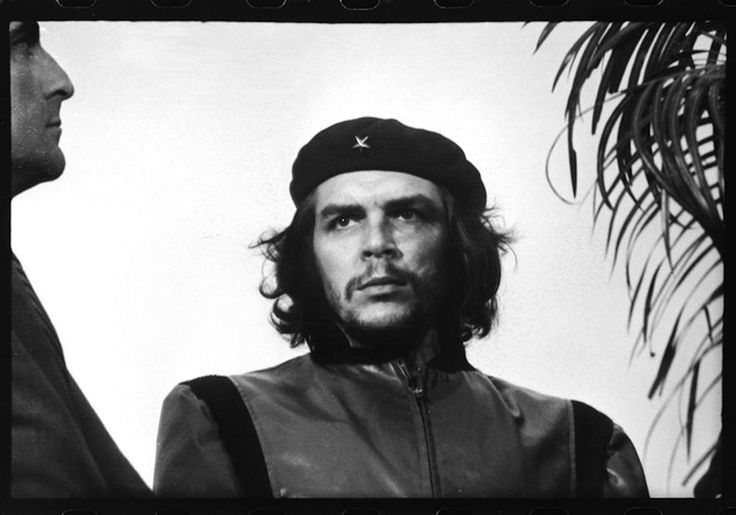 "iconic photos 1960  ""Guerrillero Heroico"" or ""Heroic Guerrilla Fighter"" is one of the most popular and stylized pictures of all time. Taken by Alberto Korda on March 5, the image is of the Marxist revolutionary Che Guevara at a memorial service for victims of La Coubre explosion. It is often considered as the most famous image in the world and certainly lionized Guevara's person as it is the most reproduced image in photography."