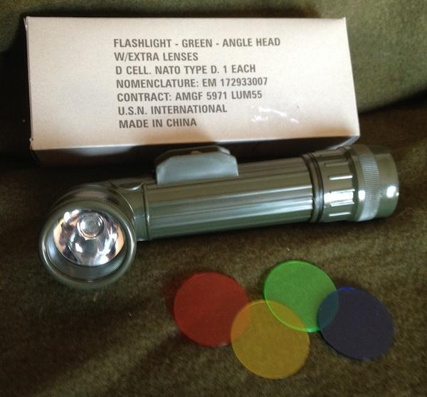 Flashlight TL-122, yes you need light.
