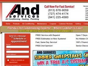 And Services - Tampa, FL - Air Conditioning Contractors & Systems - Air Conditioning Contractors & Systems, Heating & Air Conditioning - (813) 445-4818 - Serving the Tampa, FL area.