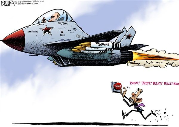 Image result for obama and russia cartoons